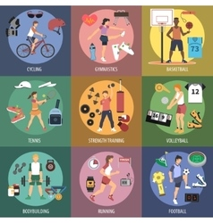 Sport People Concepts vector image vector image