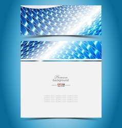 Virtual presentation gallery vector image vector image