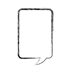 Speech bubble message isolated icon vector