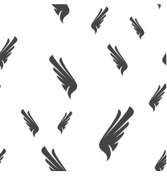 wing seamless pattern vector image
