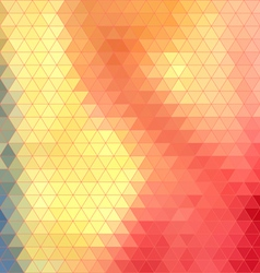 Bright abstract pattern polygons vector