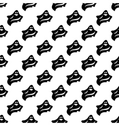 Ghost pattern seamless vector