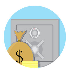 Deposit box storage vector