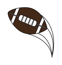 football ball design vector image vector image
