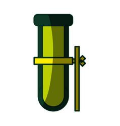 test tube chemistry vector image
