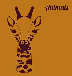 Animal design vector