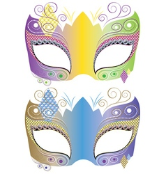 Decorative carnival mask4 vector