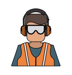 Industrial safety icon image vector