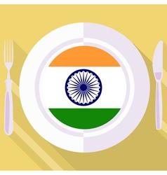 Kitchen of india vector