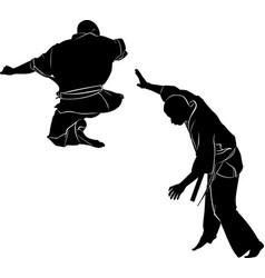 kyokushinkai karate vector image