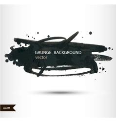 Splash banners watercolor background grunge vector