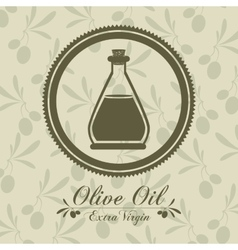 Olive oil design vector