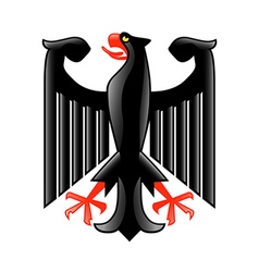 Coat of arms germany isolated on white vector