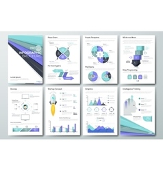 Big set of infographic elements and vector image vector image