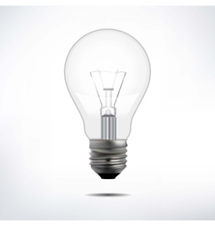 incandescent electric lamp in format vector image