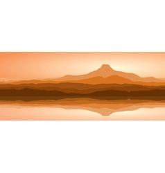 panorama vector image