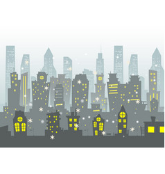 Abstract of big city vector