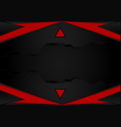 Black and red stripesabstract background with vector