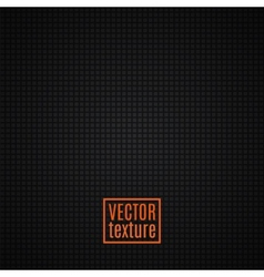 Black textured background vector image