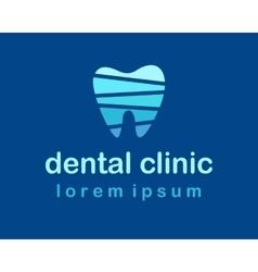 Denta Clinic Logo vector image vector image