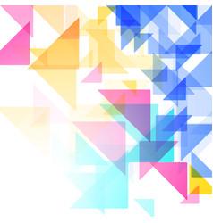 Simple triangular pattern vector