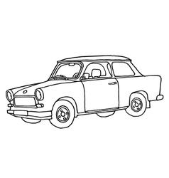 Trabi - trabant car vector