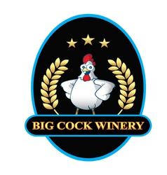 Big cock winery vector
