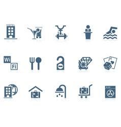 Hotel service icons | piccolo vector