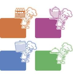 restaurant equipment vector image