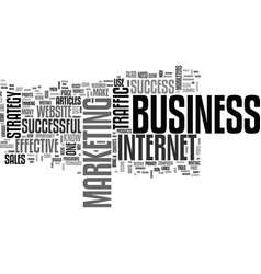 Be a success in your business text word cloud vector
