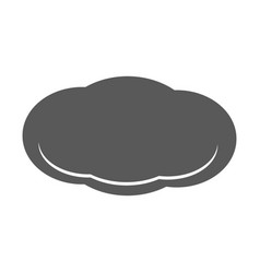 cloud icon simple vector image