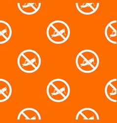 No locust sign pattern seamless vector