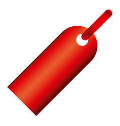 red tag sign icon vector image vector image