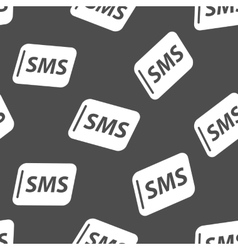 Sms seamless pattern vector