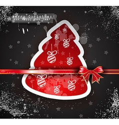 Christmas vintage design background vector