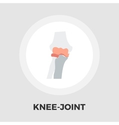 Knee-joint flat icon vector