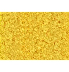 Bright gold glitter texture background vector image