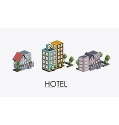 Hotel sevice desing vector