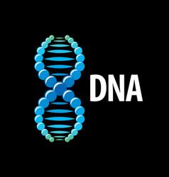 Logo dna vector