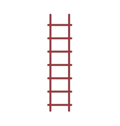 stair up isolated icon vector image