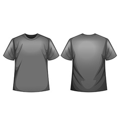 Grey shirt vector image