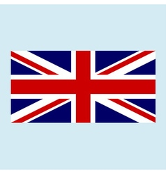 british flag color vector image