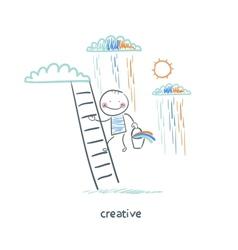 Creatives vector image
