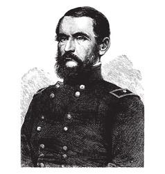 General john james peck vintage vector