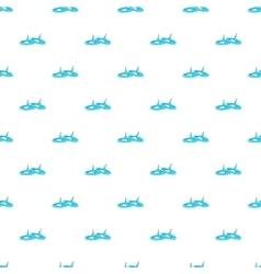 Pushpins pattern cartoon style vector