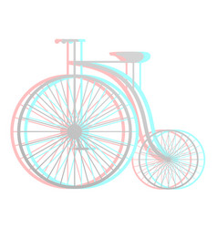 imaginative bike vector image