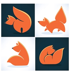 Fox collection vector