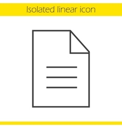 New document icon vector
