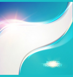 abstract bright template vector image vector image