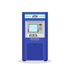 Atm payment terminal auto teller machine vector